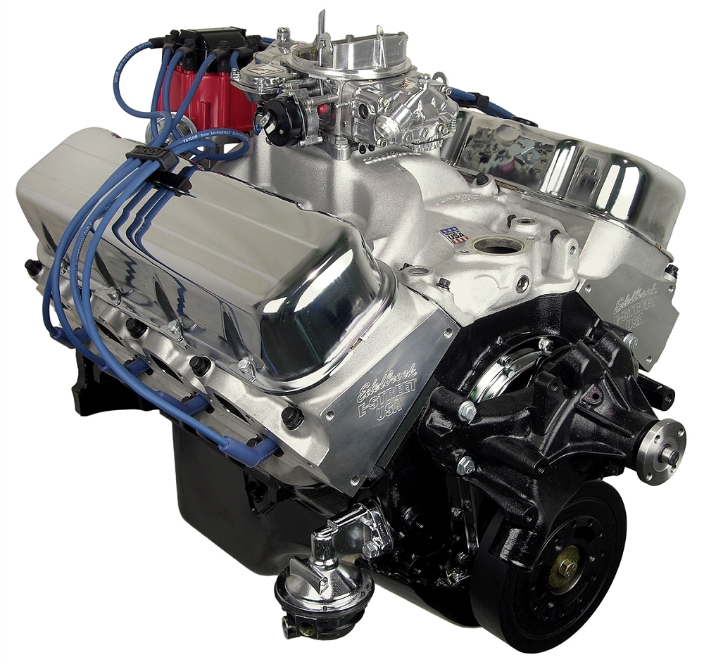 Chevy Big Block ATK 454 Complete Engine - 525HP | Corvette ...