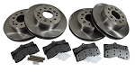 C3 Corvette 1968-1982 Brake Rotor & Brake Pad Kits