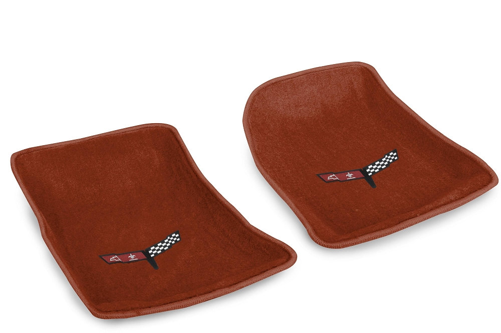 C3 Corvette 1968 1982 Cut Pile Molded Perfor Mats With