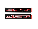 C6 Corvette Z06 2006-2013 427 Engine Badges - Pair