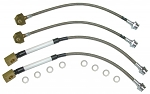 C4 Corvette 1984-1996 Stainless Steel Braided Brake Caliper Hose Kits