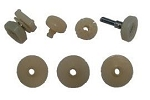 C3 Corvette 1968-1982 Side Window Track Roller Kit - 7 or 9 Piece Kit