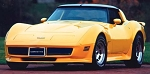 C3 Corvette 1980-1982 ACI Fiberglass Front One-Piece Spoilers - Also Available in TruFlex