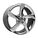 C7 Corvette Stingray 2014+ GM 5 Spoke Chrome Wheels - 19in Front / 20in Rear