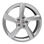C7 Corvette Stingray 2014+ GM 5 Spoke Silver Wheels - 19/20
