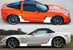 C6 Corvette 2005-2013 Lamin-X Clear Bra Paint Protection - Pre-Cut Full Kit