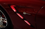 C7 Corvette Stingray/Z06/Grand Sport 2014-2019 LED Strip Lighting - Side Fender Vents