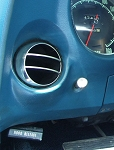 C3 Corvette 1968-1977 Vent Deflector Balls - Single or Kit Options