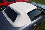 C4 Corvette 1986-1993 Convertible Stayfast Cloth Tops w/ Soft Windows - Color Option