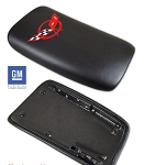 C5 Corvette Base / Z06 1997-2004 Embroidered Console Lids