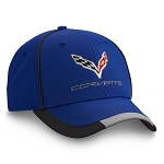 C7 Corvette 2014-2019 Performance Cap - Royal Blue & Red Options