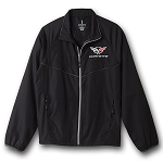 C5 C6 Corvette 1997-2013 Lightweight Jacket - Logo on Chest