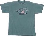 C2 C3 C4 C5 C6 C7 Corvette 1963-2014+ Men's Legend T-Shirt - Teal Blue