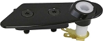 C3 Corvette 1979-1982 T-Top Lock Plate w/ Alarm Switch - Black