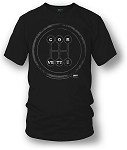C3 C4 C5 C6 Corvette 1968-2013 Corvette Manual T-Shirt