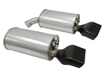 C4 Corvette 1992-1996 Mufflers - Aluminized With LT-1 Tips