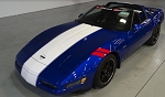 C4 Corvette 1996 Grand Sport Script Windshield Decal