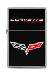 C6 Corvette 2005-2013 Corvette Racing Flip Top Cigarette Lighter