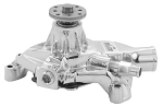 C3 Corvette 1972-1982 Tuff-Stuff Standard Style Chrome Water Pump - 305/350