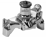 C3 C4 Corvette 1969-1986 Tuff-Stuff Platinum SuperCool Water Pump - Long