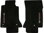 C5 Corvette 1997-2004 Lloyds Classic Loop Floor Mats - Sideways Corvette Racing Script