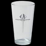 C7 Corvette 2014+ Stingray 16oz Etched Logo Glass