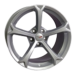 C6 Corvette Grand Sport 2010-2013 OEM-Style Silver Wheels