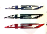 C6 Corvette 2005-2013 427 Aluminum Badges / Engine Plates Emblems