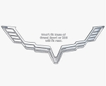 C6 Corvette 2005-2013 Chrome Plated Billet Aluminum Emblem Bezels - Single or Pair