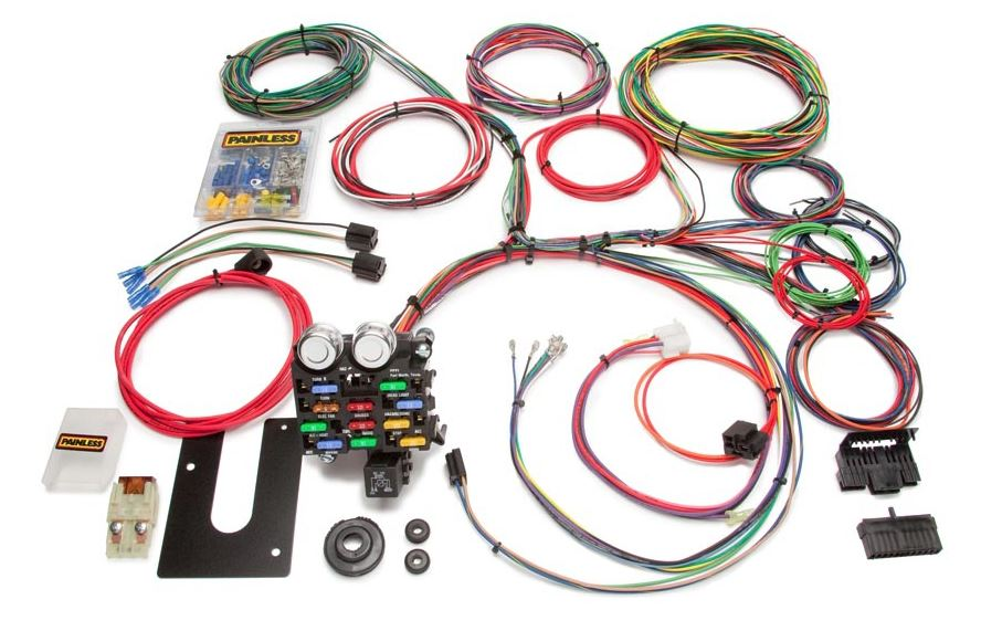 painless performance wiring diagram painless performance gm keyed column customizable chassis harness  painless performance gm keyed column