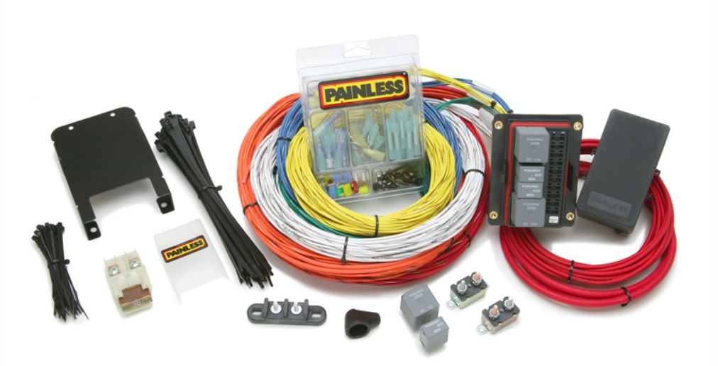 i just installed a painless wiring harness along with painless performance customizable extreme off road chassis harness  customizable extreme off road chassis