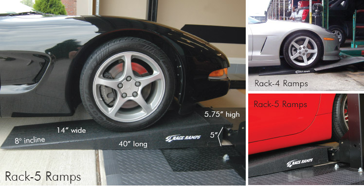 Race Ramp Rack Ramps 4in Or 5in Set Of Two Corvette Mods