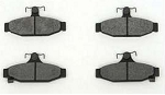 C4 Corvette 1988-1996 Hawk HPS Ferro-Carbon Brake Pads - Front & Rear