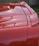 Corvette Rear Spoiler - ZR1 Style Custom Painted : 2005-Current C6,Z06,Grand Sport