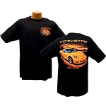 C6 Corvette 2005-2013 Orange Vette Dreams T Shirt