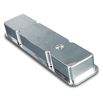 C2 C3 Corvette 1963-1982 Small Block Billet Smooth Valve Covers - Multiple Finishes Available