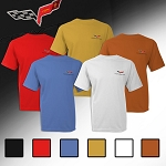 C6 Corvette 2005-2013 Embroidered Logo T-Shirt