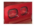 C4 Corvette 1991-1996 Taillight Louvers