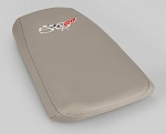 C5 Corvette 1997-2004 50th Anniversary Console Lid Assembly - Leather Single Color