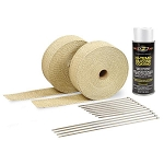 DEI Exhaust & Pipe Wrap Kit with High-Temp Silicone