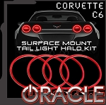 C6 Corvette 2005-2013 Oracle LED Lighting Waterproof Surface Mount Tail Light Afterburner Halo Kit