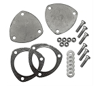 1963-2011 Pypes Performance 3 inch Electric Cutout Dump Plate Kit