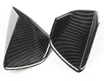 C7 Corvette 2014-2019 Hydro Carbon Fiber Door Bowl Handle Trim - 2 pcs