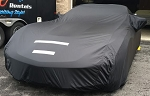 C2 C3 C4 C5 C6 C7 C8 Corvette 1963-2020+ Select-Fleece Car Cover - Black Satin