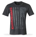 C7 Corvette 2014-2019 Patriot T-Shirt From the American Legacy Collection - Heather Gray