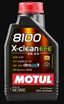 C2 C3 Corvette 1963-1982 Motul 8100 X-Clean EFE 100% Synthetic Engine Oil 5W30 - 1 Liter