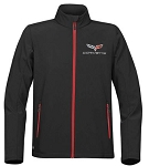 C6 C7 Corvette 2005-2019 Men's Matrix Soft Shell Jacket - Logo Options
