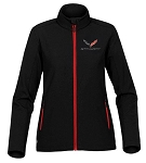 C7 Corvette 2014-2019 Ladies Stingray Soft Shell Jacket - Size Options