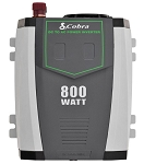 Cobra Power Inverter w/ 2 Gounded AC Plugs - 800 Watt