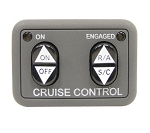 Rostra Universal Dash Mount Cruise Control Switch